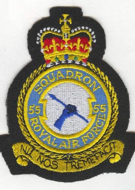 55 Squadron RAF crest