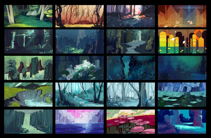 Colorworks Series | BACKGROUNDS on Behance