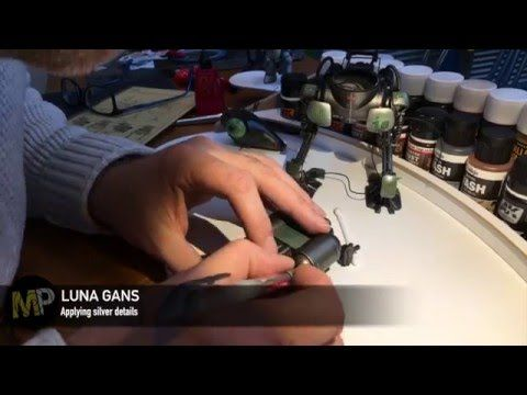 Building the Ma.k LUNA GANS part 18 [silver] - YouTube
