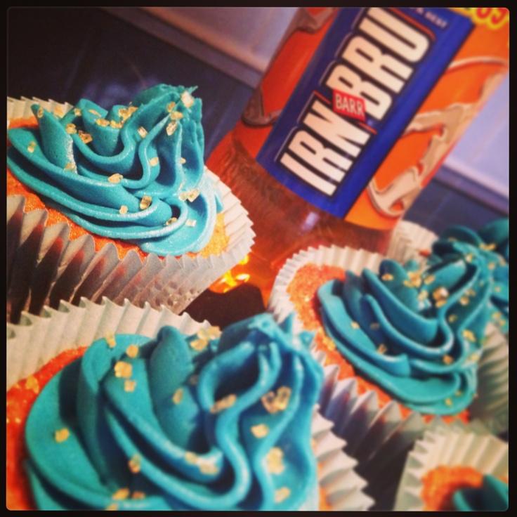 Irn Bru Cupcakes Birthday Cake Idea