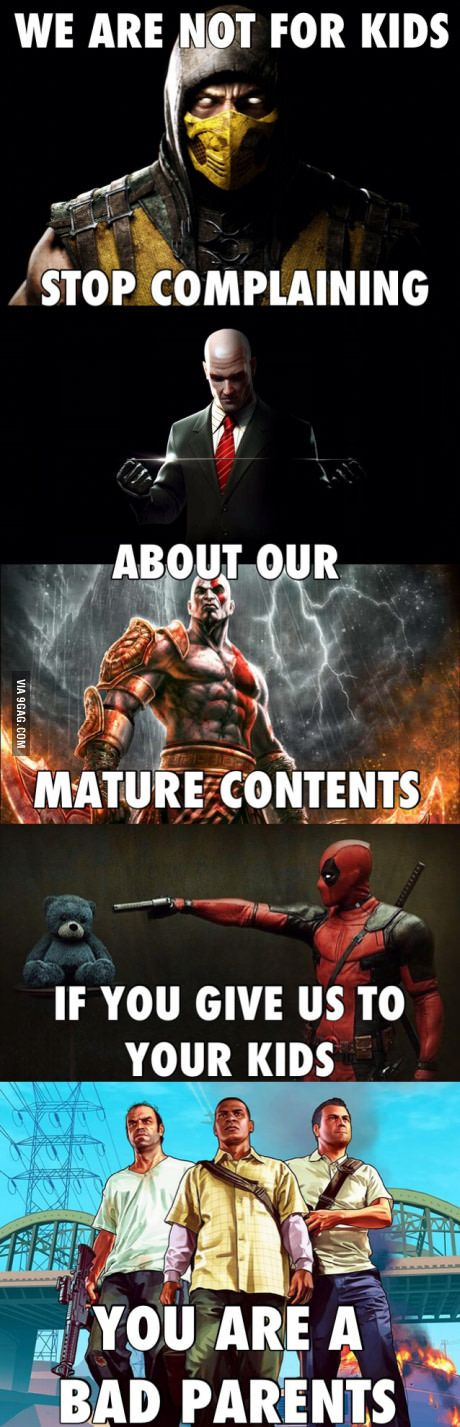 I did not know all of these, but I'm just sick of the parents who took their kids to watch deadpool and hitman when they knew the rating is not suitable for their kids.