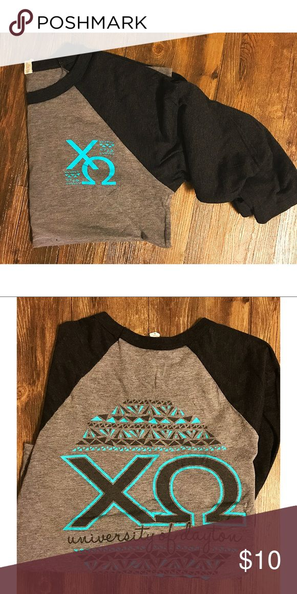 Chi Omega Long Sleeve T-Shirt Chi Omega T-Shirt Tops Tees - Long Sleeve