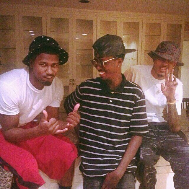 August alsina and his brother melvin mel x26amp aug awwwww this