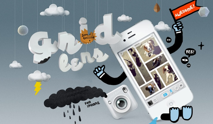 Grid Lens for iPhoneApp Balloons, Grid Lens, Applink Promo, Http Gridlens Bucketlabs Nets, Design Iphone Ipad, Para Iphone, Iphone Ipad App