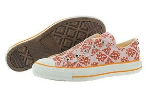 Taylor as Mosaic 5Z033 Pink Orange Slip on Canvas Shoes Women | eBay