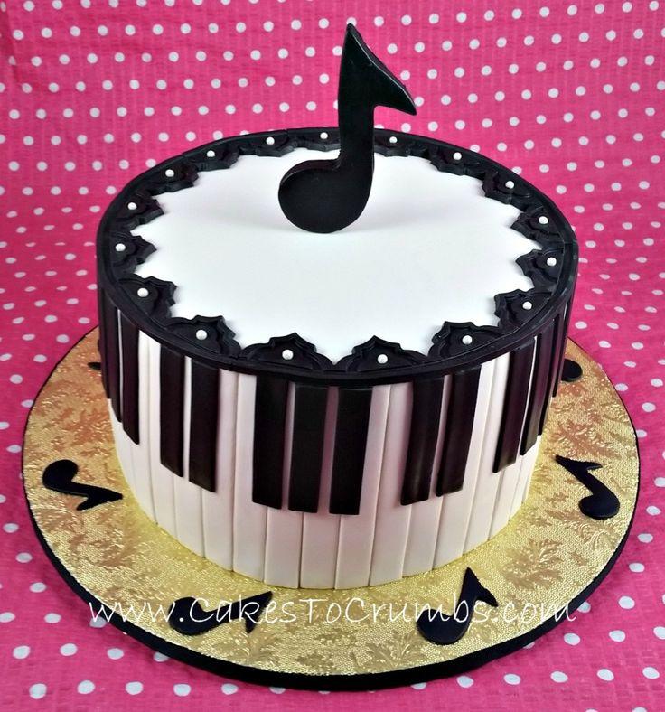 Musical Notes Cake Pops