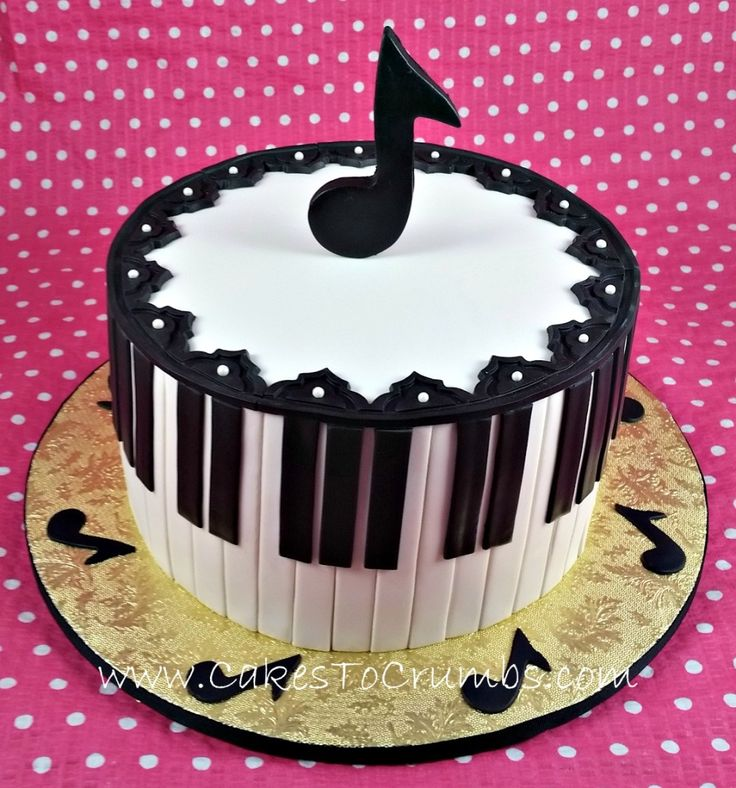 Cake Decoration Music : 25+ Best Ideas about Music Note Cake on Pinterest Music ...