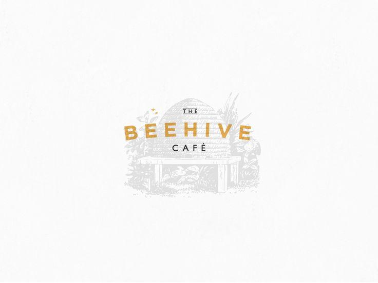 Beehive café logo
