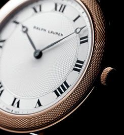 Ralph Lauren Watches and Time Pieces.