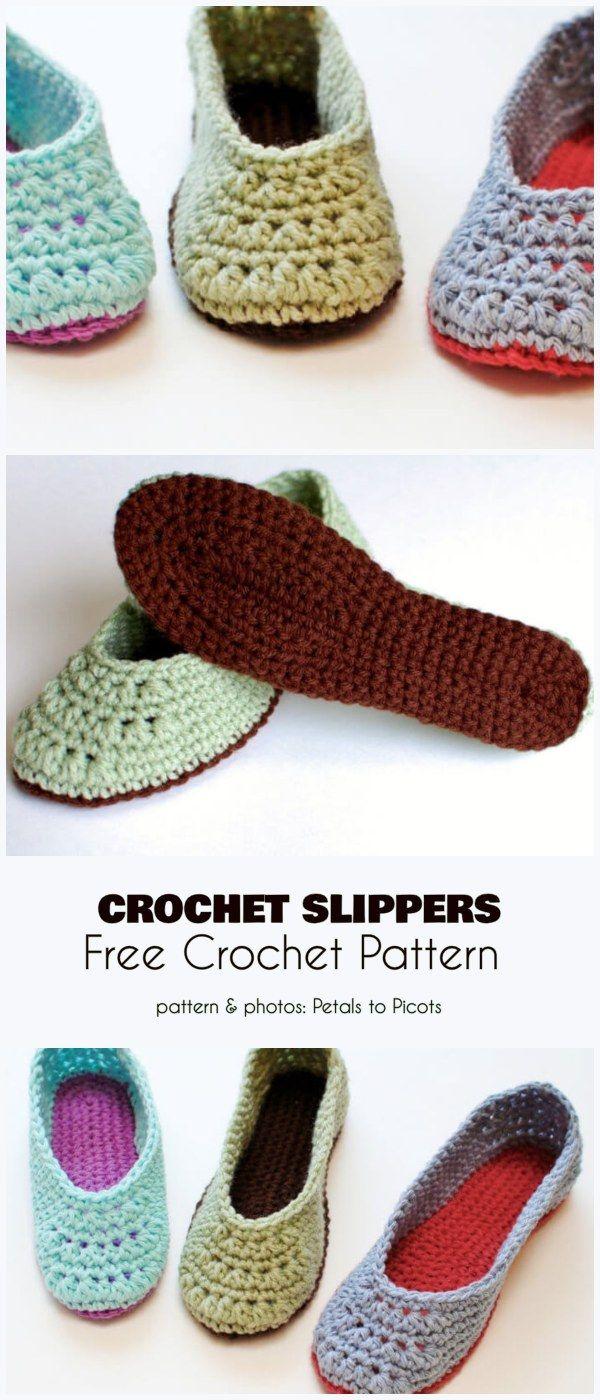 Stylish Crochet Slippers Free Pattern Crochet Slippers Free Pattern Easy Crochet Slippers Crochet Slippers