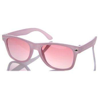 Kids' Sunglasses: Ari's Pink Sunglasses UV400 Ages 3 - 10 Crummy Bunny. $19.99