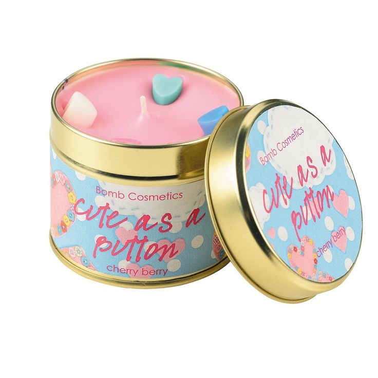 Bomb Cosmetics Cute as a Button Candle: Amazon.es: Hogar
