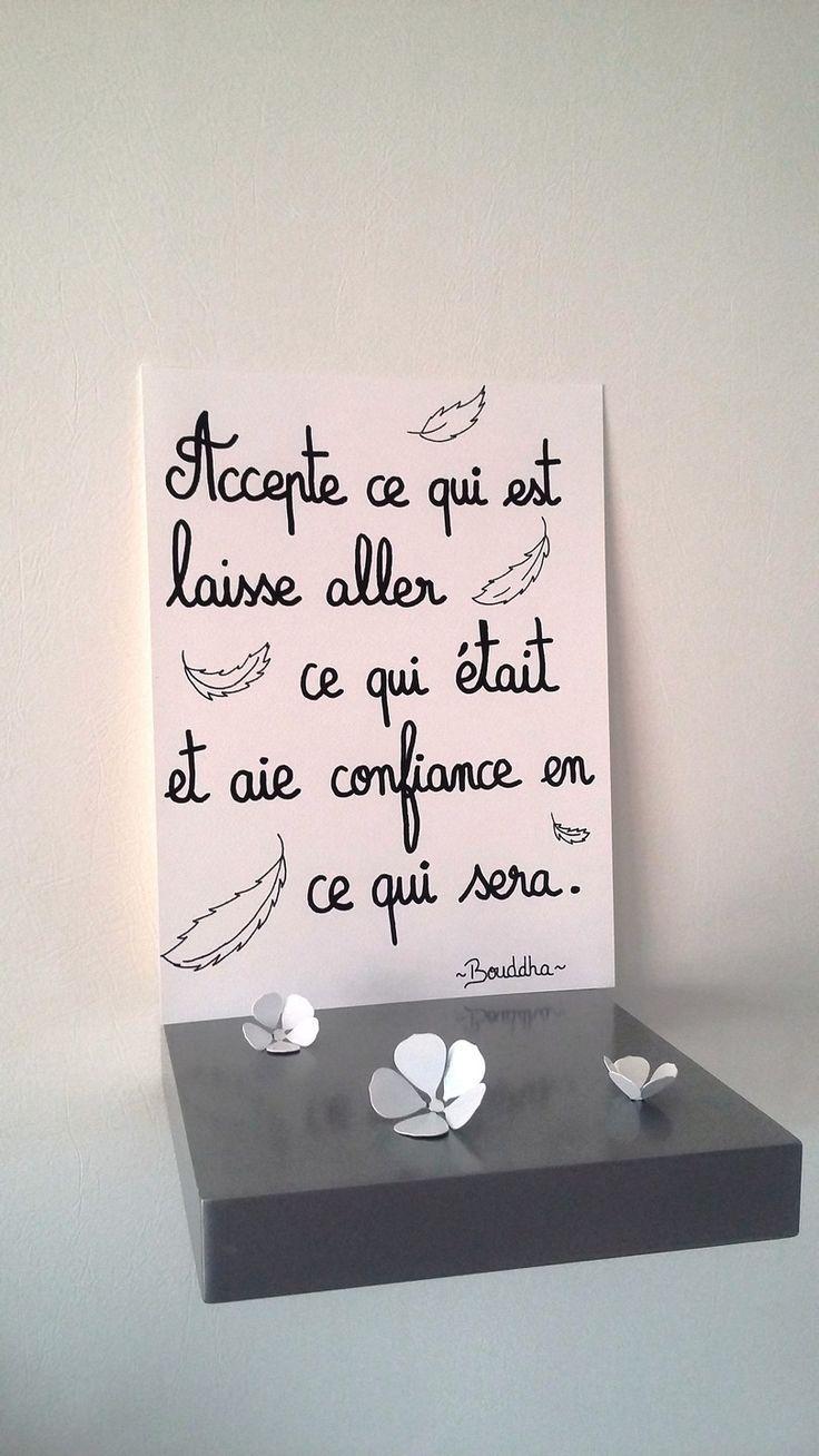 """affiche quotation """" BOUDDHA"""" : Affiches, illustrations, posters par stefebricole"""