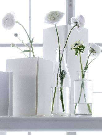 .White Flowers, Wonder White, Puree White, Flower Arrangements, Glasses Bottle, Interiors Decor, Floral, White Vases, White White