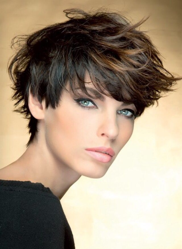 Short cut ... To much make up?