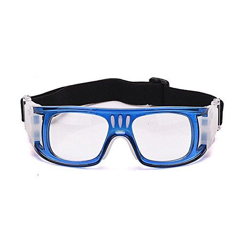 1bf49ea1607 AOLVO Sports Goggles for Men Women Protective Glasses for Indoor Outdoor  Activities Basketball Football Volleyball Hockey