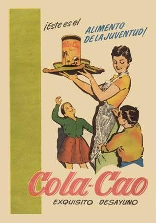 Cartel Cola Cao
