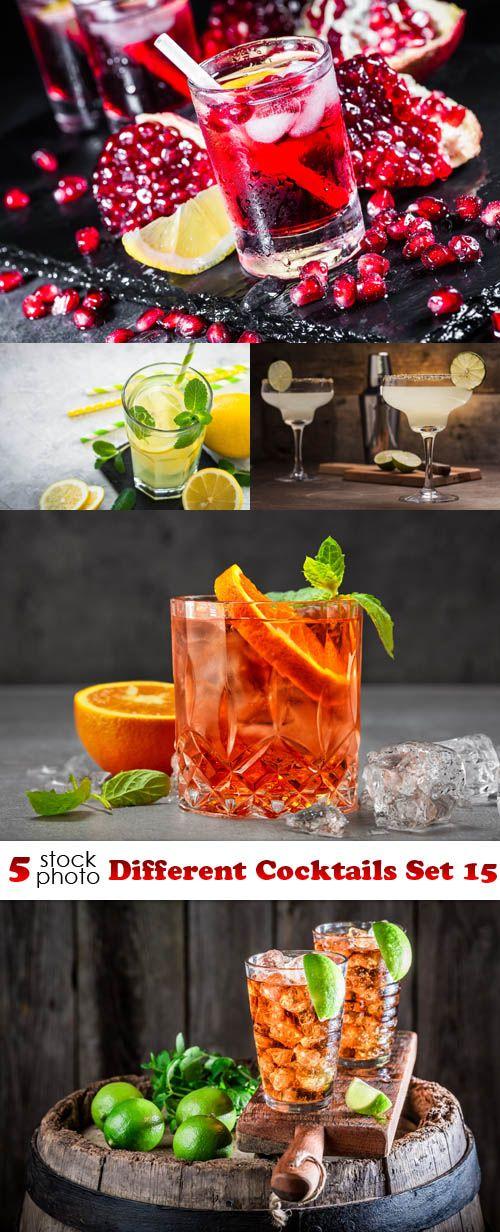 Photos - Different Cocktails Set 15