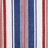 Deck Chair Stripe Red Taupe