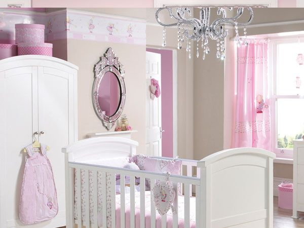 17 best images about a bedroom made for a princess on pinterest bed crown upholstered - Baby girl bedroom ideas ...