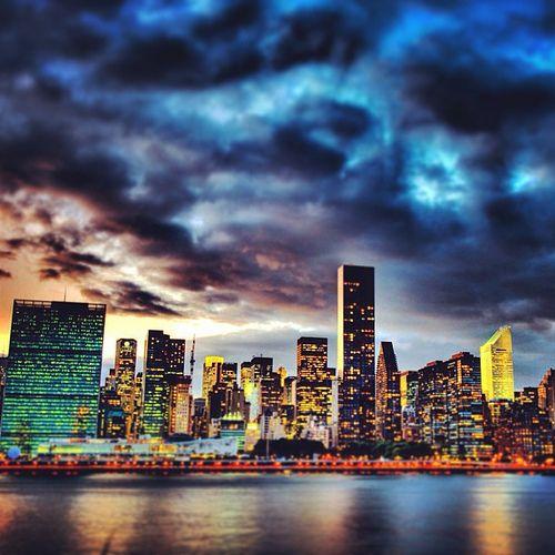 #tower #building #new #york #newyork #usa #america #states #night #light #beautiful #manhattan #summer #like #holidays #homesickness #sad #return #vacanza #love #this #city