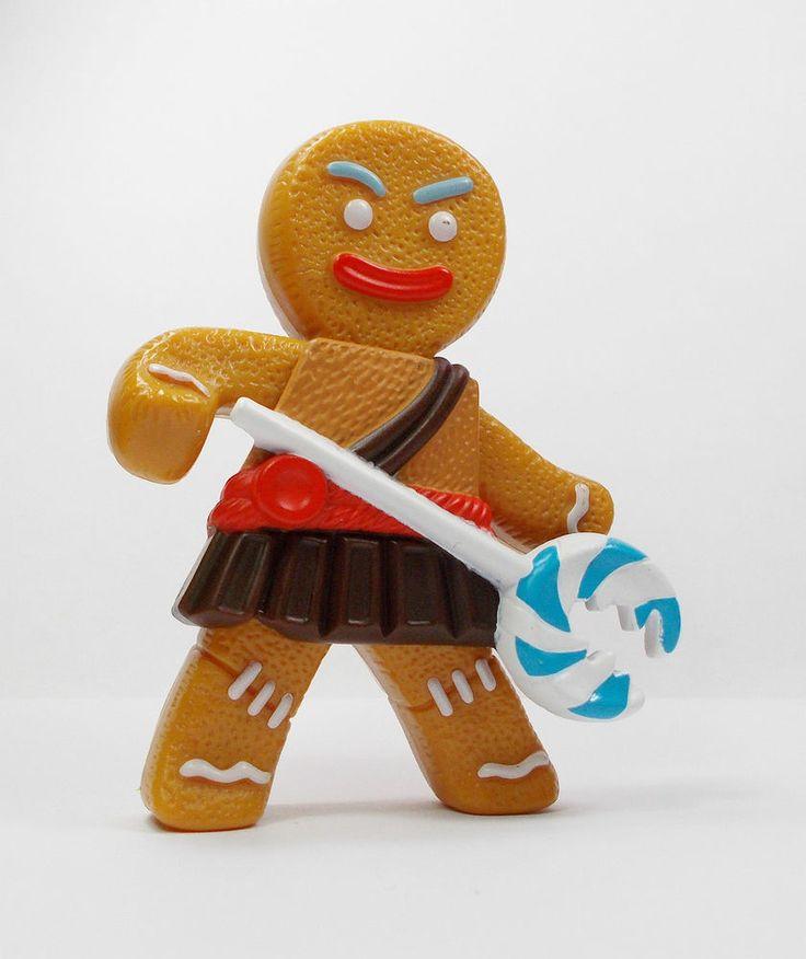 Shrek - Gingerbread Man - Toy Figure - Disney - Cake Topper (2)