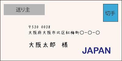 アメリカから日本に手紙/葉書を出す -封筒の書き方や切手、国際郵便総まとめ(2014年版) | 三都物語