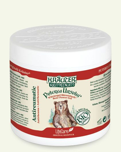 Anti Arthritis Antirheumatic BIO Organic Herbs 500ml Gel The Bear's Power