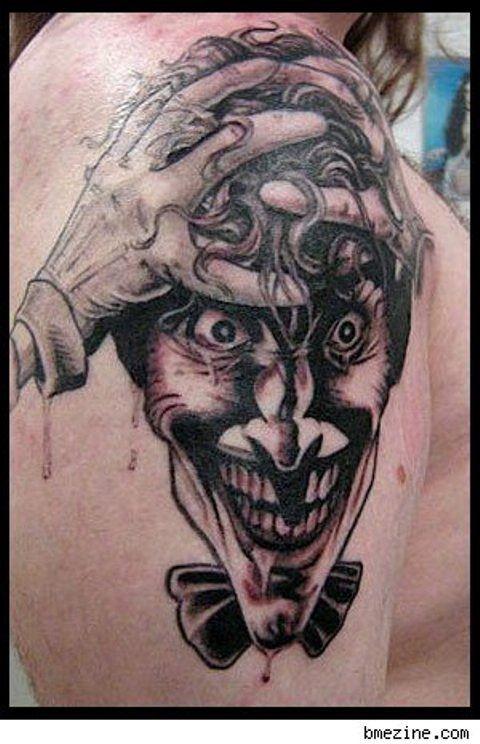 25 best joker tattoo images on pinterest joker tattoos for The joker tattoo