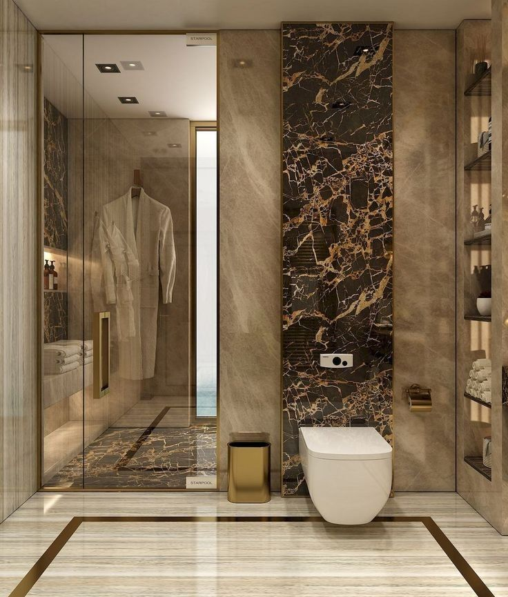 32 Ultra Modern Master Bathroom Ideas To Inspire Your Next Renovation 22 Lingoistica Com In 2020 Modern Bathroom Design Bathroom Design Luxury Luxury Bathroom Master Baths