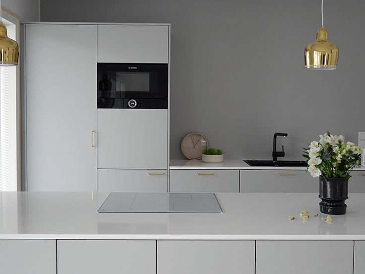 Projektila gray kitchen