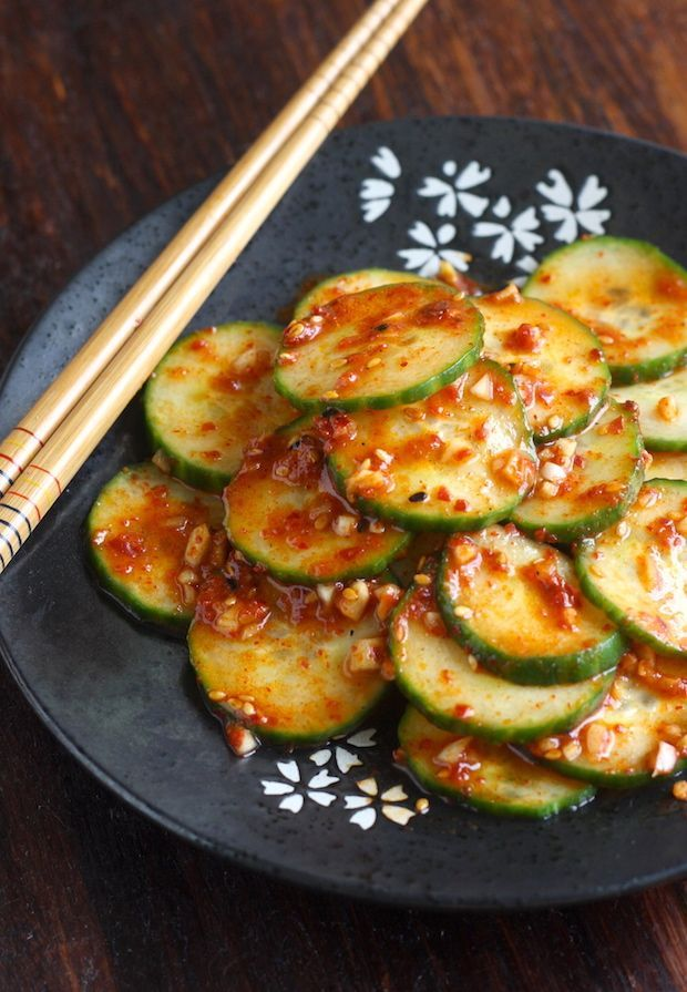 175 best seoul food images on pinterest korean food recipes spicy korean cucumber salad oi muchim by seasonwithspice forumfinder Images