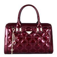 nuevo hangbag 2.014 mujeres de la moda / PU mujeres de la marca bolsa de mensajero bolsa de pintura única shoulser bolsa de tela escocesa del envío libre