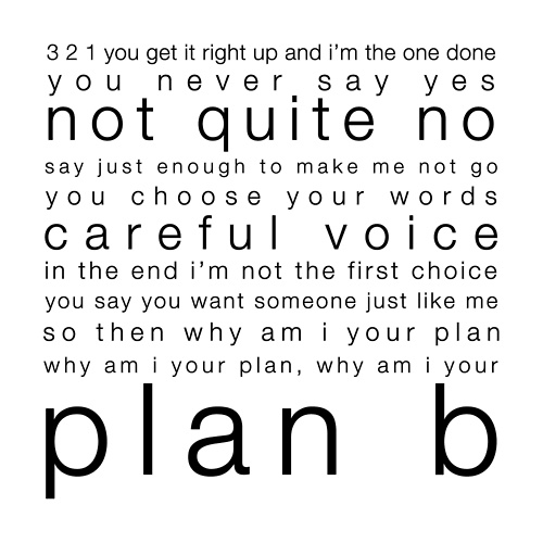 Plan B- Marianas Trench