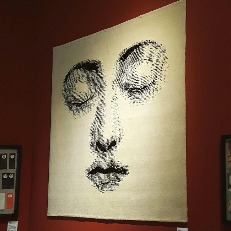 Italian artist 'Piero Fornasetti' exhibition [Goodnight, 2008] Rug