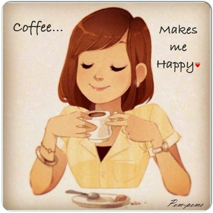 Coffee makes us happy