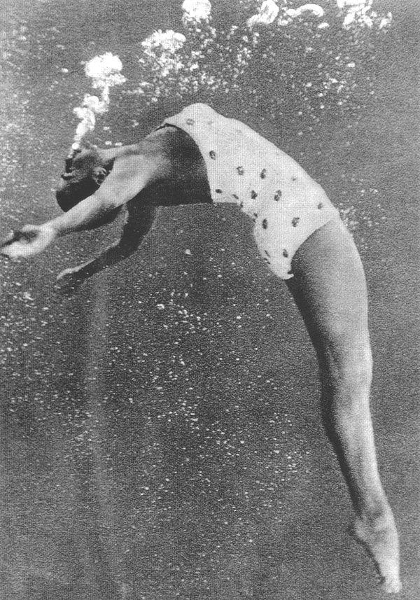 """b22-design: """" Esther Williams - 'underwater world' """""""