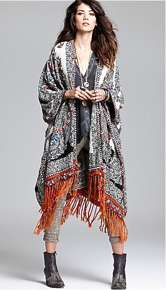 it looks like she's wearing a carpet... LOVE!!! (Free People)