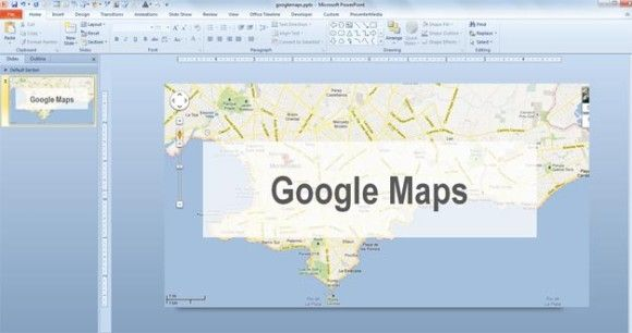 embed google maps inside your ppt presentations and decorate your slide designs with awesome maps