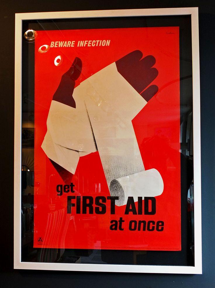 A #vintage #firstaid #poster #workplace   #training #corporatetraining #cpr#workplacetraining #safety #courses #sydneycourses#sydneyworkplace #workplaceskills https://www.edway.edu.au/sydney/first-aid/