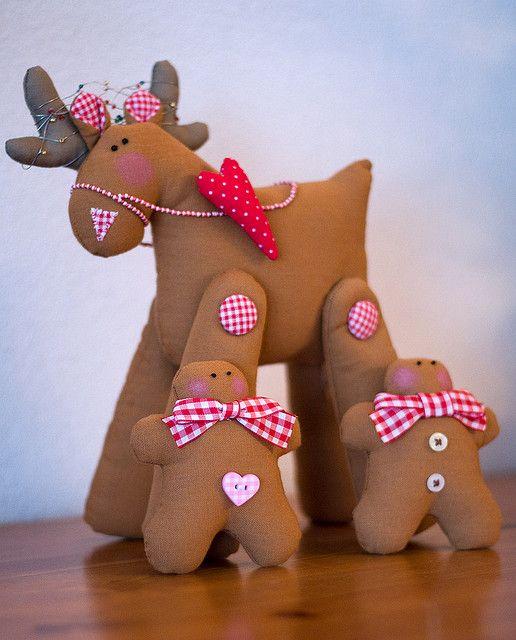 Reindeer and Gingerbread Men