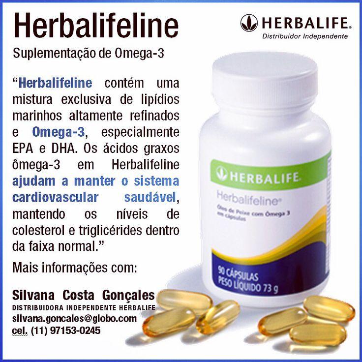 Voce sabia que o Herbalifeline da Herbalife ajuda a manter o sistema cardiovascular saudável? Sobre produtos, preços, como comprar e oportunidade de negocio, entre em contato com a Distribuidora Independente Herbalife: SILVANA COSTA GONÇALES, cel. (011) 97153-0245, silvana.goncales@globo.com, FIT CAMP E ESPAÇO VIDA SAUDAVEL METRO CONCEIÇÃO JABAQUARA SÃO PAULO, #estetica #fashion #fitcamp #fitness #focoemvidasaudavel #herbalife #moda #nutrição #vidaativaesaudavel #vidasaudavel…