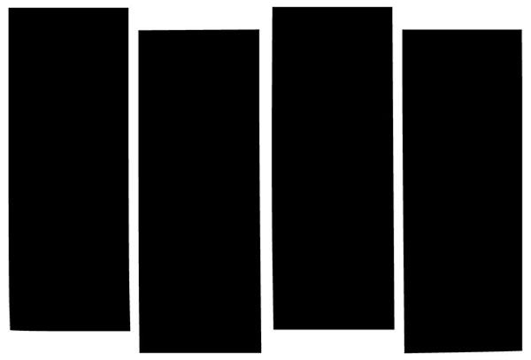 Black Flag bars logo