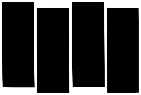 Black Flag bars logo
