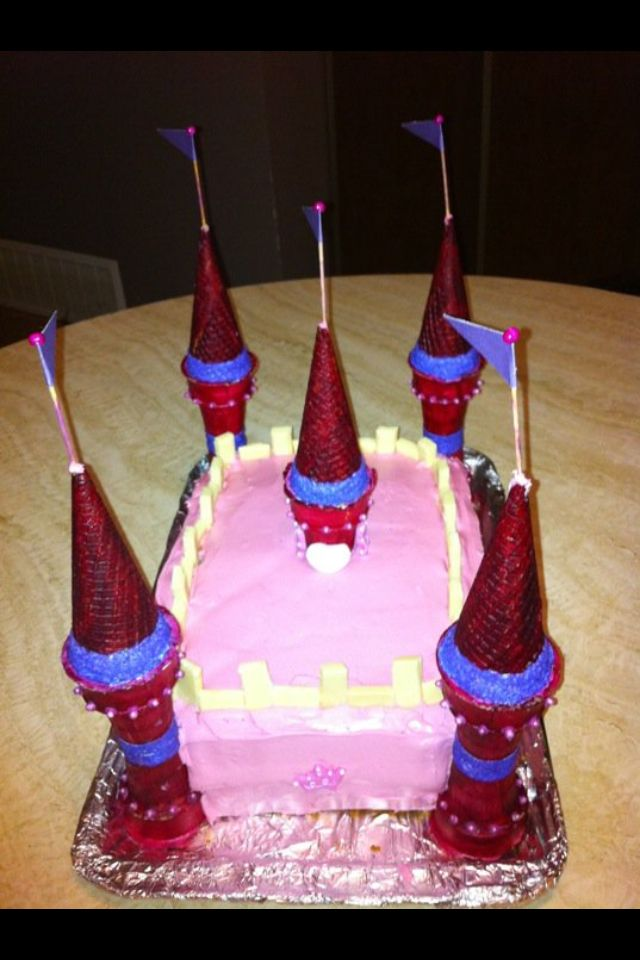Some day I will do another castle cake, this was my first cake creation.