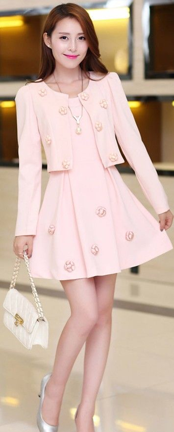 Sleeveless Dress and Jacket Set YRB0318 £19.40