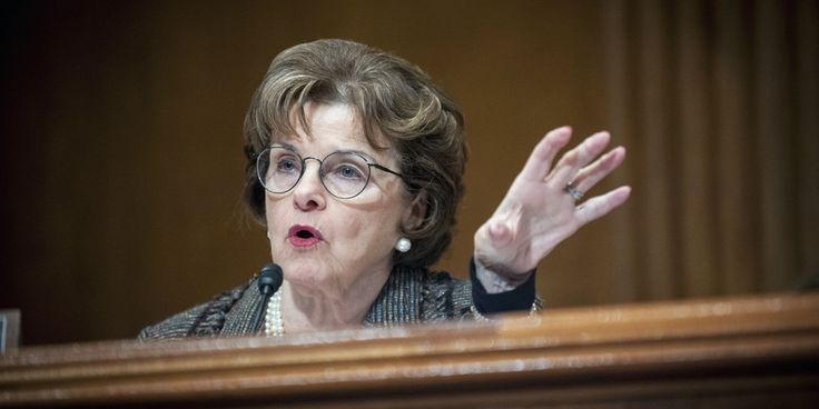 Sen. Dianne Feinstein goes there and callsout Donald Trump today for defying the Constitution, this after news that China may grantTrump 38 more trademarks for his businesses.      She's calling on Republicans to step up and work with Democratsto hold...