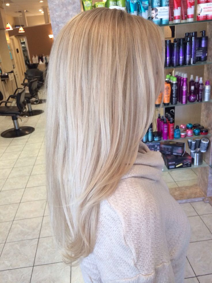 Icy blonde appreciated by San Antonio's Extensions of Yourself specialty hair extension salon