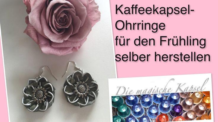 Ohrringe für den Frühling selber herstellen - Schmuck Anleitung - die ma...
