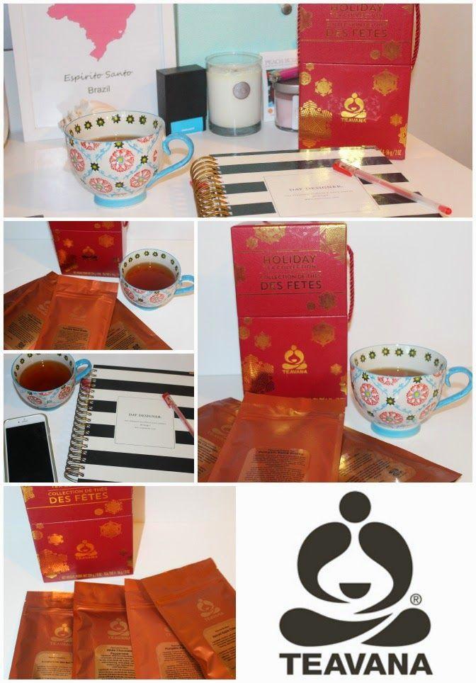Teavana Holiday Tea Collection ~ Holiday Favorites Gift Set ~ #Review #ad #Teavana
